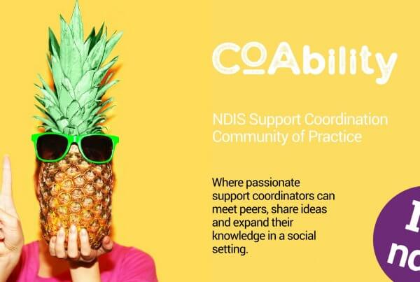 Support Coordination Community of Practice